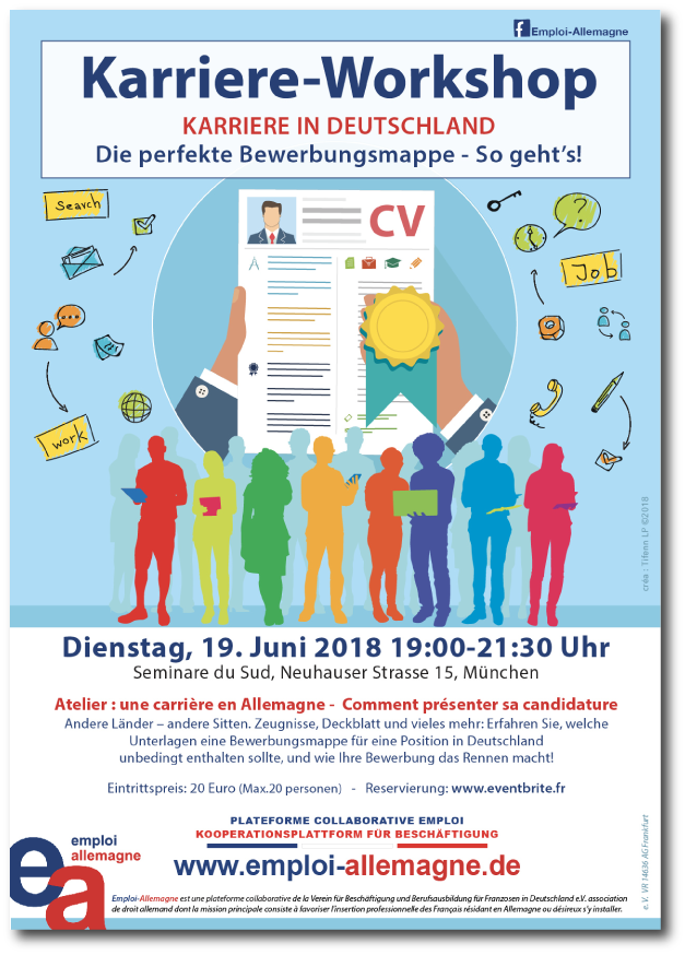 Affiche Workshop Emploi-Allemagne