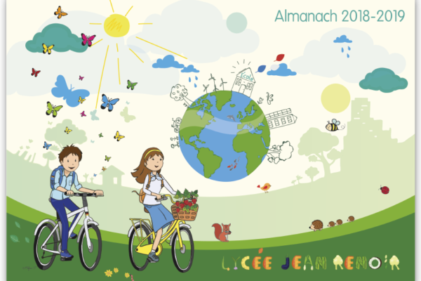 Catalogue almanach Lycée Jean Renoir 2019